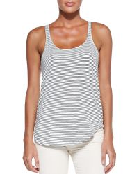 Etoile Isabel Marant Ivor Striped Tank Top - Lyst