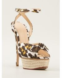 Charlotte Olympia 'Serena' Sandals - Lyst