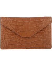 Stalvey Alligator Adysen Envelope Clutch - Lyst