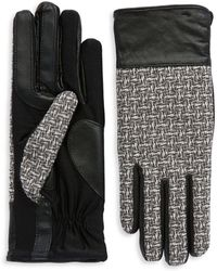 Grandoe | Tweed Sensor Touch Gloves | Lyst