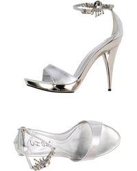 Chon Sandals silver - Lyst