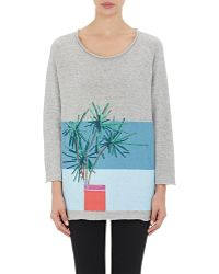Band of Outsiders - Plant Graphic Sweatshirt - Lyst