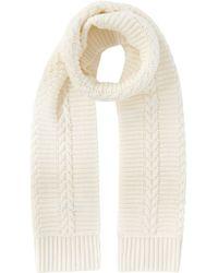 Karen Millen - Chunky Transfer Knit Scarf - Lyst