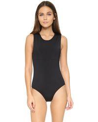 Beth Richards | Grace Swimsuit - Black | Lyst