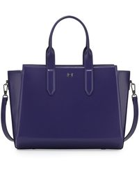 Halston Heritage Leather East-west Satchel Bag - Lyst