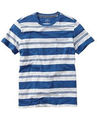Gap Livedin Double Stripe Tshirt - Lyst