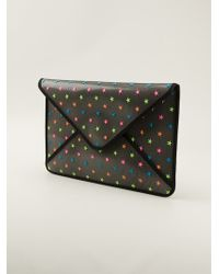 RED Valentino Star Embellished Clutch - Lyst