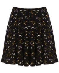 Oasis Clusterfield Floral Skirt - Lyst