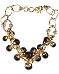 Valentina Brugnatelli - Nicole Resin & Swarovski Necklace - Lyst