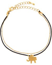 Jules Smith Elephant Chain Rope Bracelet - Lyst