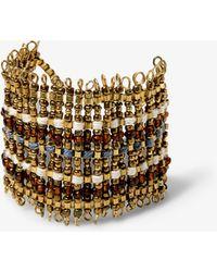 Mango | Metal Bead Bracelet | Lyst