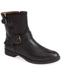 Biala - Dravus Leather Biker Boots - Lyst