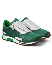 Raf Simons X Adidas Leather Sneakers - Lyst