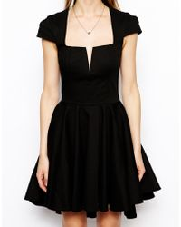 Asos Full Skater Dress - Lyst