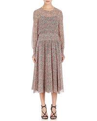 Philosophy Di Lorenzo Serafini | Floral Midi-dress | Lyst