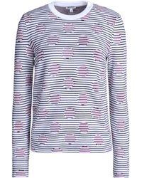 Kenzo Long Sleeve Sweater - Lyst