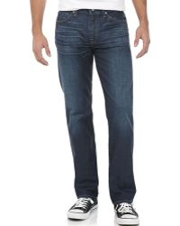 7 For All Mankind Slimmy Slimfit Straight Leg Jean - Lyst