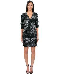 Tibi Leopard Ditzy Henley Dress - Lyst