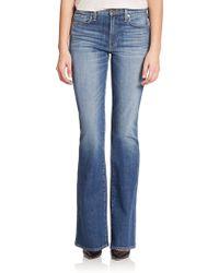 Genetic Denim Hepburn High-Rise Flared Jeans - Lyst