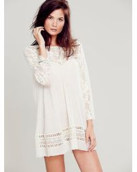 Free People Fp One Fly Away Tunic - Lyst