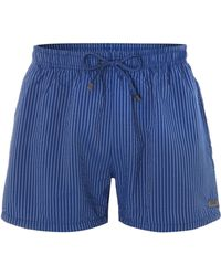 Hugo Boss Tuna Stripe Swim Short - Lyst