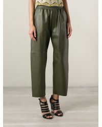 M Missoni Cropped Trousers - Lyst