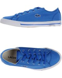 Lacoste Low-tops  Trainers - Lyst