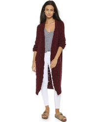 Sea - Hand Knit Worn Sweater Coat - Camel - Lyst