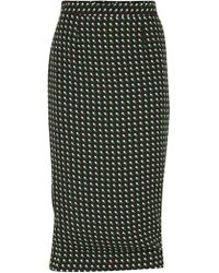 A.L.C. Bell Happy Pill Print Pencil Skirt - Lyst