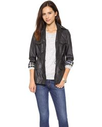 Madewell Coated Outbound Jacket  - Lyst