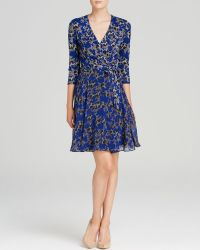 Diane Von Furstenberg Dress  Irina Silk Jersey - Lyst