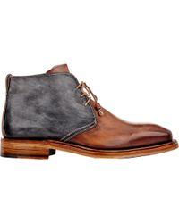 Bettanin & Venturi - Bi-color Chukka Boots - Lyst