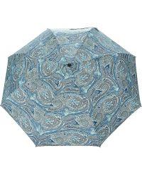 Etro - Floral Paisley Print Umbrella - Lyst