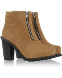 Surface To Air Beige Ankle Boots - Lyst