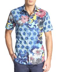 Robert Graham Ensenada Floral Button-Front Shirt - Lyst