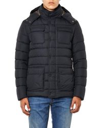 Herno Quilted Down Field Jacket - Lyst