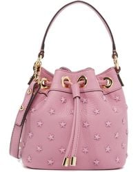 MILLY - Astor Small Star Bucket Bag - Lyst