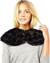 French Connection - Nala Fur Cape - Lyst