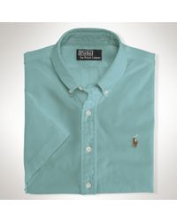 Polo Ralph Lauren Custom Short Sleeve Chambray - Lyst