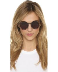 House of Holland - Cagefighter Sunglasses - Black/smoke Mono - Lyst