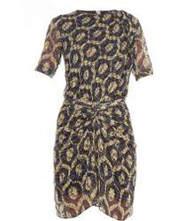 Isabel Marant - Tehora Twist-front Dress - Lyst