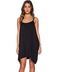 Obey Black Margeaux Dress - Lyst