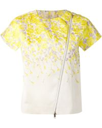 Giambattista Valli Short Sleeve Jacquard Jacket - Lyst