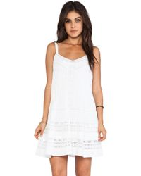 Twelfth Street by Cynthia Vincent Mini Western Lace Dress - Lyst