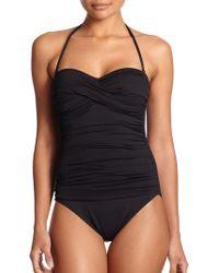 La Blanca One-Piece Core Ruched Swimsuit - Lyst