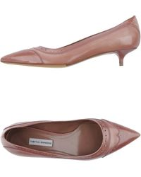 Tabitha Simmons Court pink - Lyst