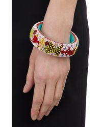 Isabel Marant Multicolor Beaded Bangle - Lyst