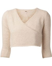 Dosa Cropped Sweater - Lyst