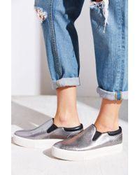 Ash Karma Pointy Slip-On Sneaker - Metallic