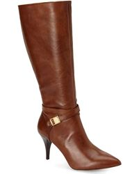 Vince Camuto Brown Ofra Boots - Lyst